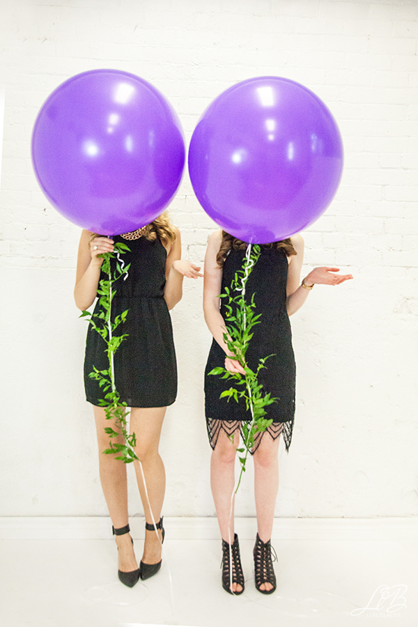 personal branding photography toronto girls with balloons