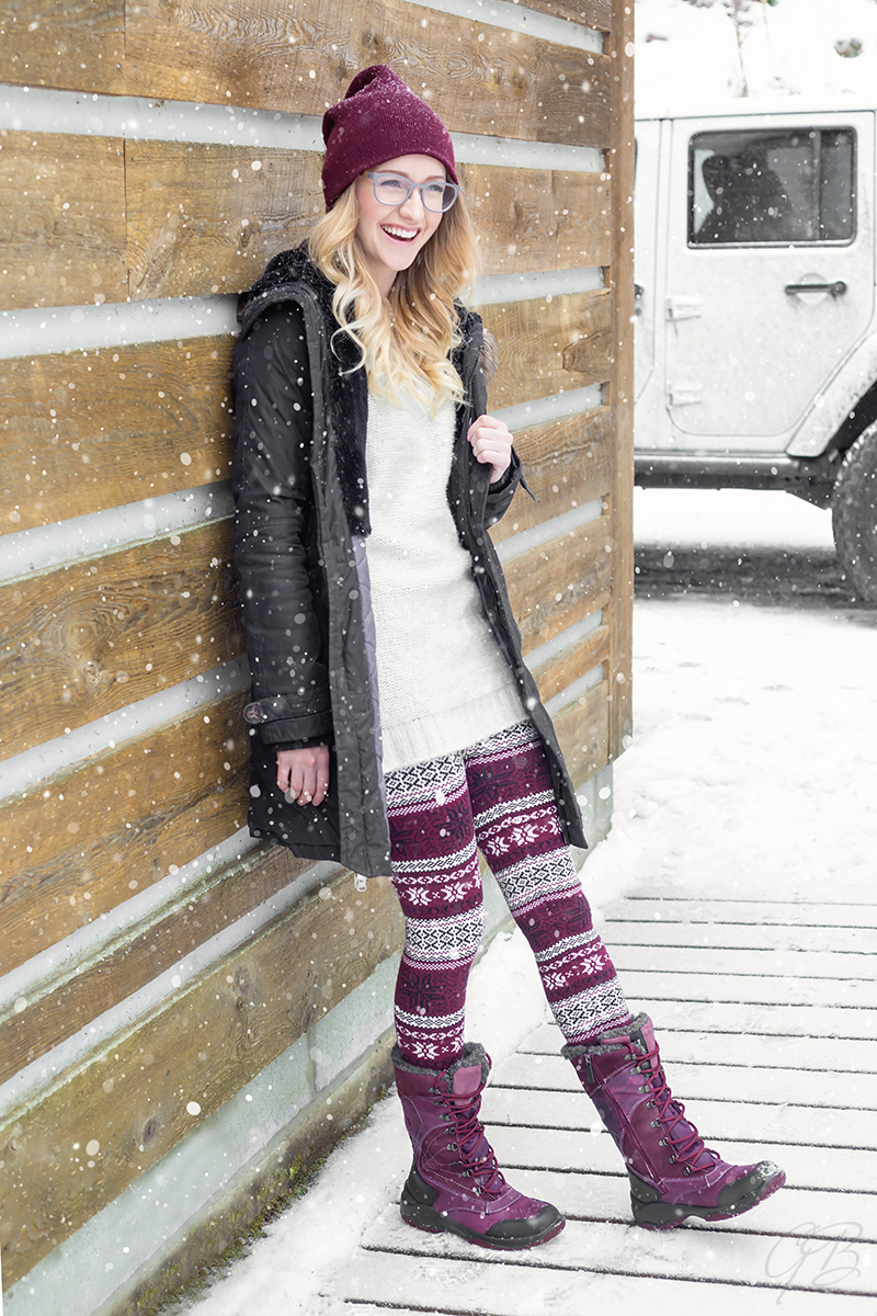 Toronto Fashion Photographer Santana Canada Winter Boot