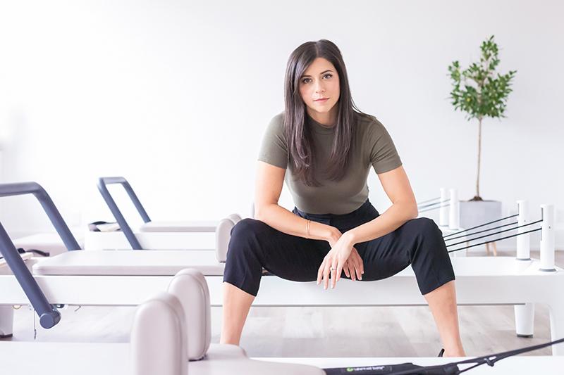 personal branding photography toronto pilates studio